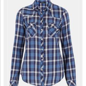 TOPSHOP Atlanta Plaid Shirt